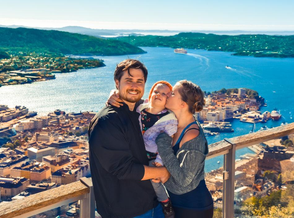 Bergen, Norway, July 2018