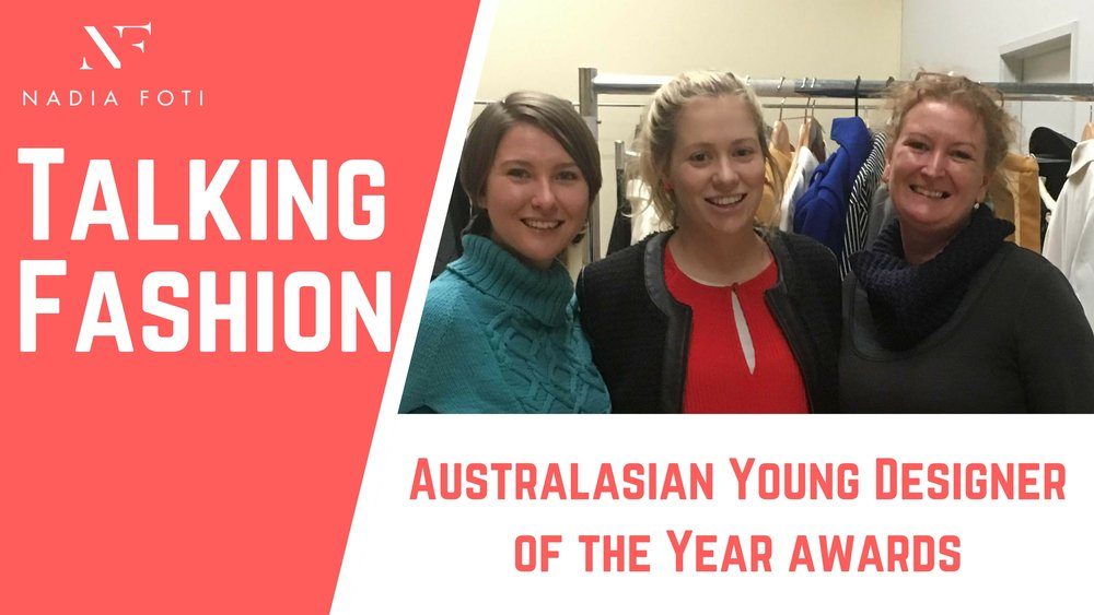 Next Week... - Nadia travels down to Hamilton, Victoria as a guest judge of the Australian Young Designer of the Year Awards. Stay tuned to find out who will be this years winner!