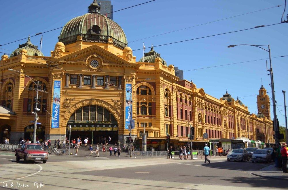 Flinders Street Railway Station.  Image by Oli & Ma Lou.