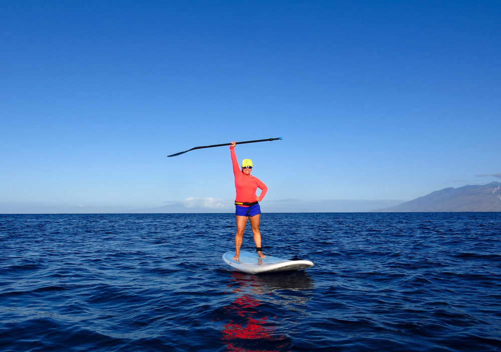 Krissy Snyder Owner of Stand UP Paddle Club