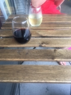 Nothing like a glass of wine on a beautiful summer evening...