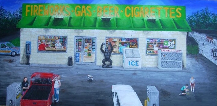 Tennessee Gas Station