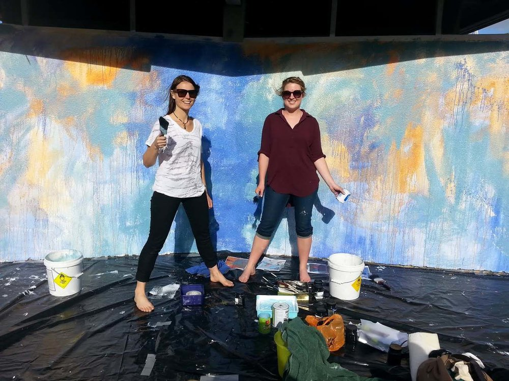 downtown_tauranga_wings_mural_progress-2