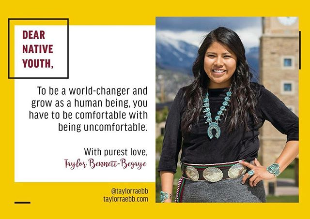 This week's Womxn Warrior Work spotlight is  Taylor Bennett-Begaye! She is a fellow New Mexican, Pueblo girl, and Native youth worker. Check out the work she does and signal boost this queen! -----------------