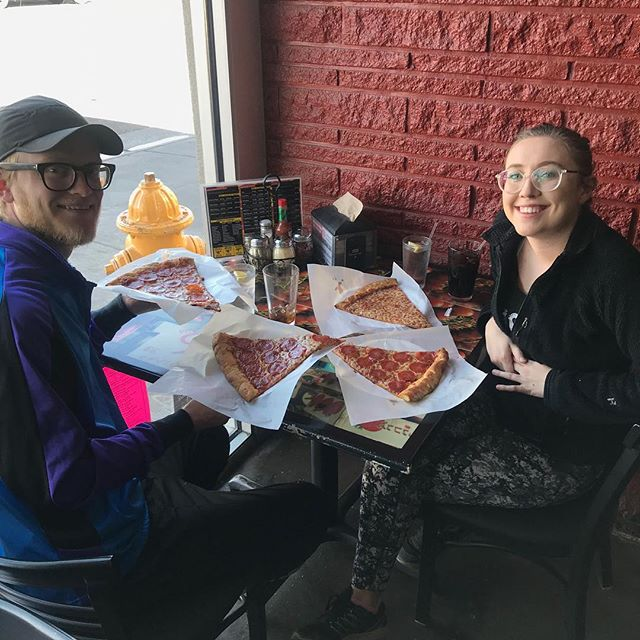 It's National Pizza Day! Are you spending it with us?! 🍕