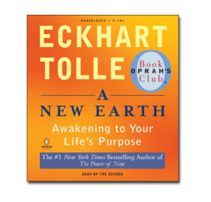 """About the Book... - With his bestselling spiritual guide The Power of Now, Eckhart Tolle inspired millions of readers to discover the freedom and joy of a life lived """"in the now."""" In A New Earth, Tolle expands on these powerful ideas to show how transcending our ego-based state of consciousness is not only essential to personal happiness, but also the key to ending conflict and suffering throughout the world. Tolle describes how our attachment to the ego creates the dysfunction that leads to anger, jealousy, and unhappiness, and shows readers how to awaken to a new state of consciousness and follow the path to a truly fulfilling existence.Illuminating, enlightening, and uplifting,A New Earthis a profoundly spiritual manifesto for a better way of life—and for building a better world."""