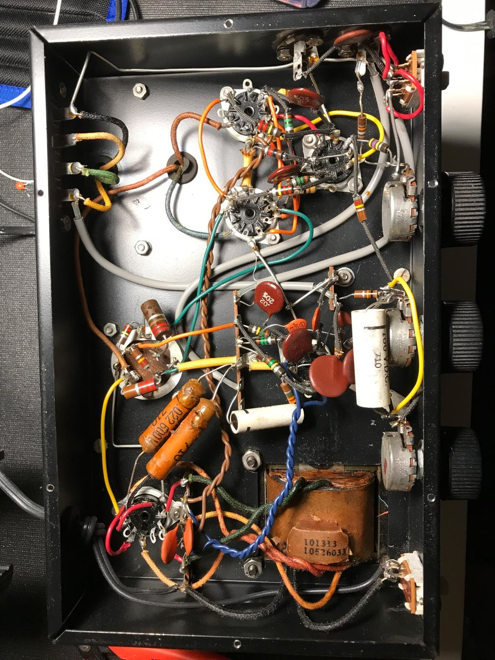 Knight Hi-Fi Amp Electronics
