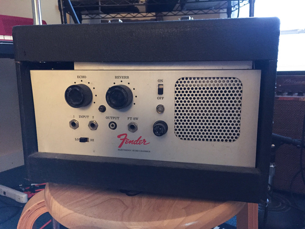 Fender Tape Echo Chamber