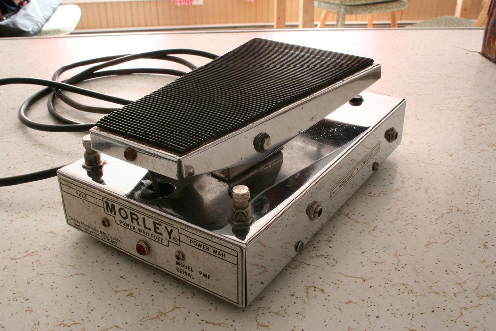 Vintage Morley PWF Wah Pedal Rear