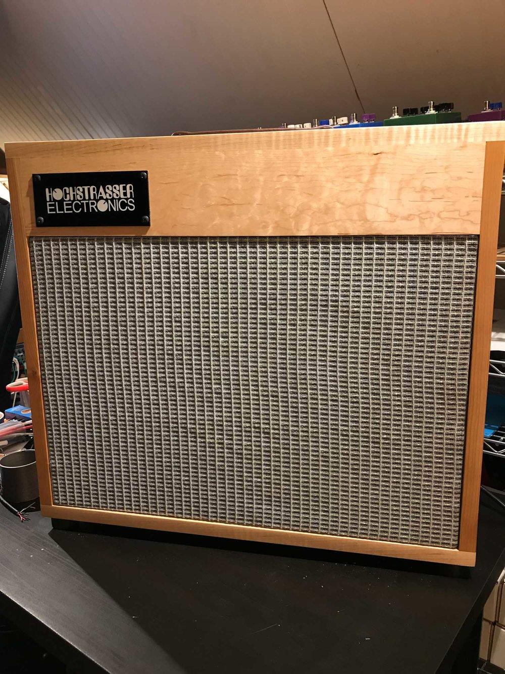Hochstrasser Electronics Custom Deluxe Reverb Amp