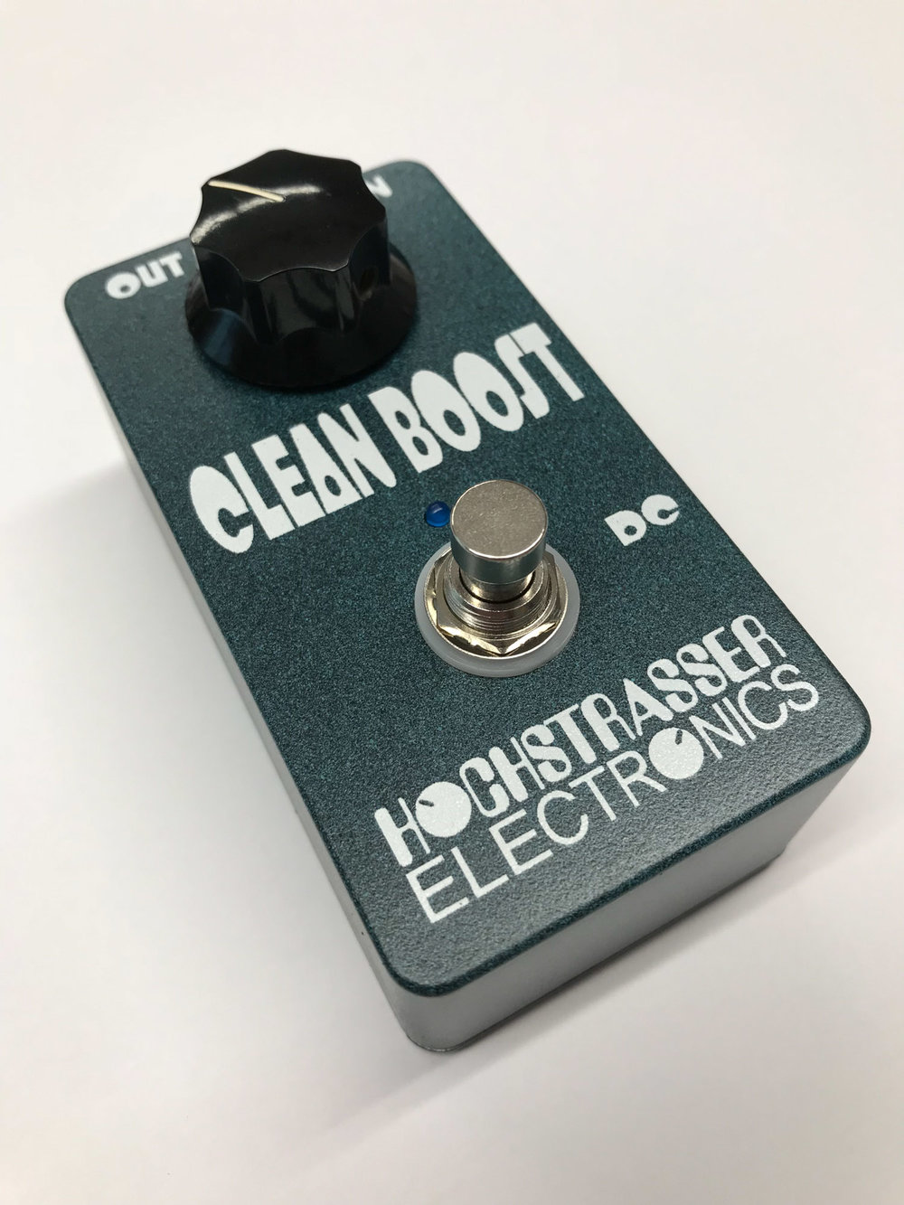 Custom Clean Boost Pedal Sideview
