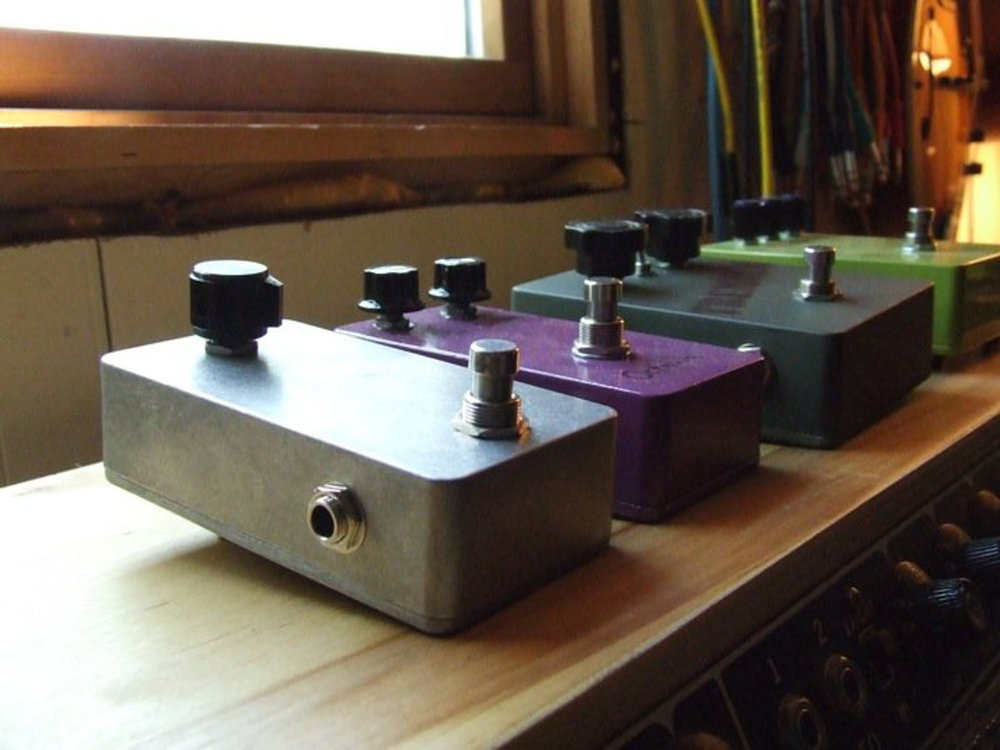 Old Custom Pedals
