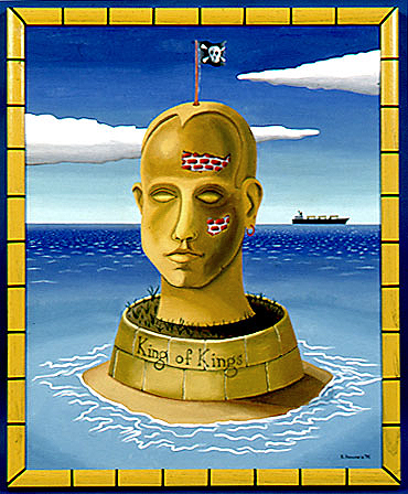 Ozymandias at Sea