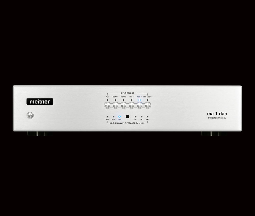 MEITNER STEREO D/A CONVERTER   With the introduction of Meitner Audio's very first product—the Meitner MA-1 Stereo D/A Converter—cost-no-object performance has suddenly become a whole lot less costly...