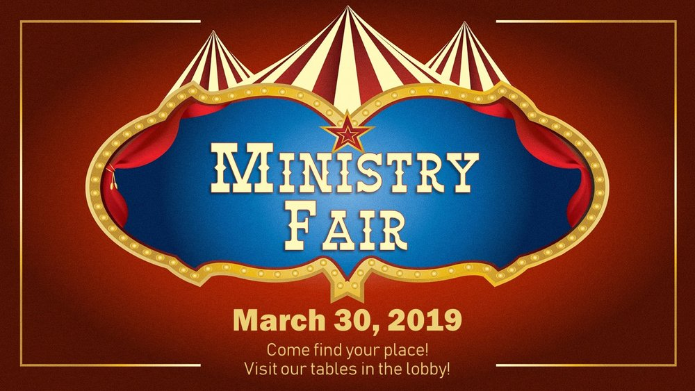 Discover great ways to serve and get involved, not only in YG, but in various places throughout our church! Saturday, March 30th, the lobby will be filled with opportunities and information for ministry involvement. Come discover and sign up in any/many spaces to serve.