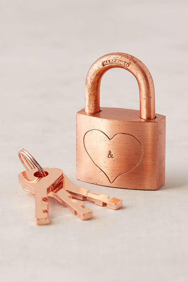 Lover's Lock and Keys $4.99 (on sale from $14.00)