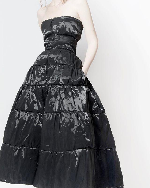 Look 6 Puffer Dress  #Thesis #JenniferKoh #JenniferTKoh #parsons #parsonsfashion #parsonsparis