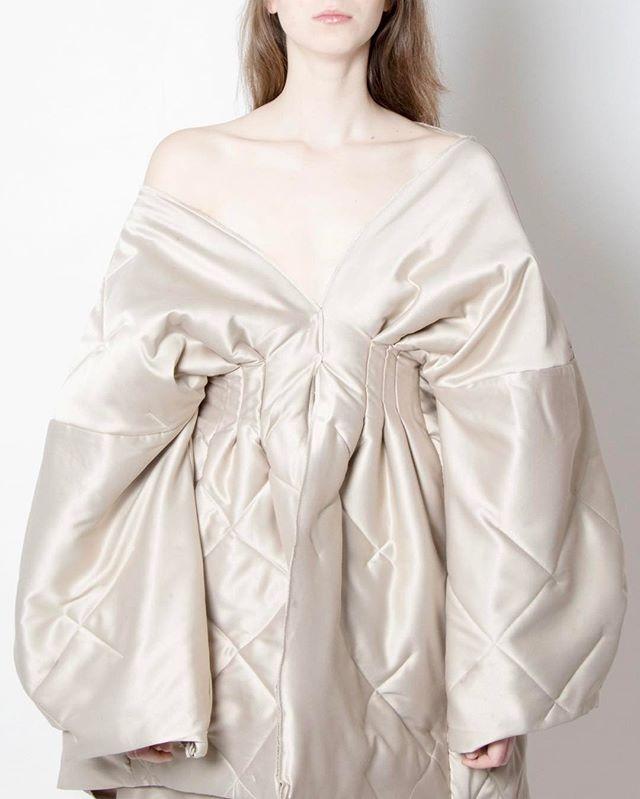 Look 4  #quilt #Thesis #JenniferKoh #JenniferTKoh #parsons #parsonsfashion #parsonsparis
