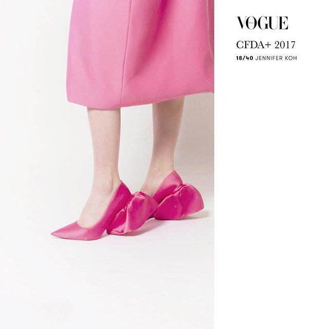 Pink on @VOGUEITALIA 💕