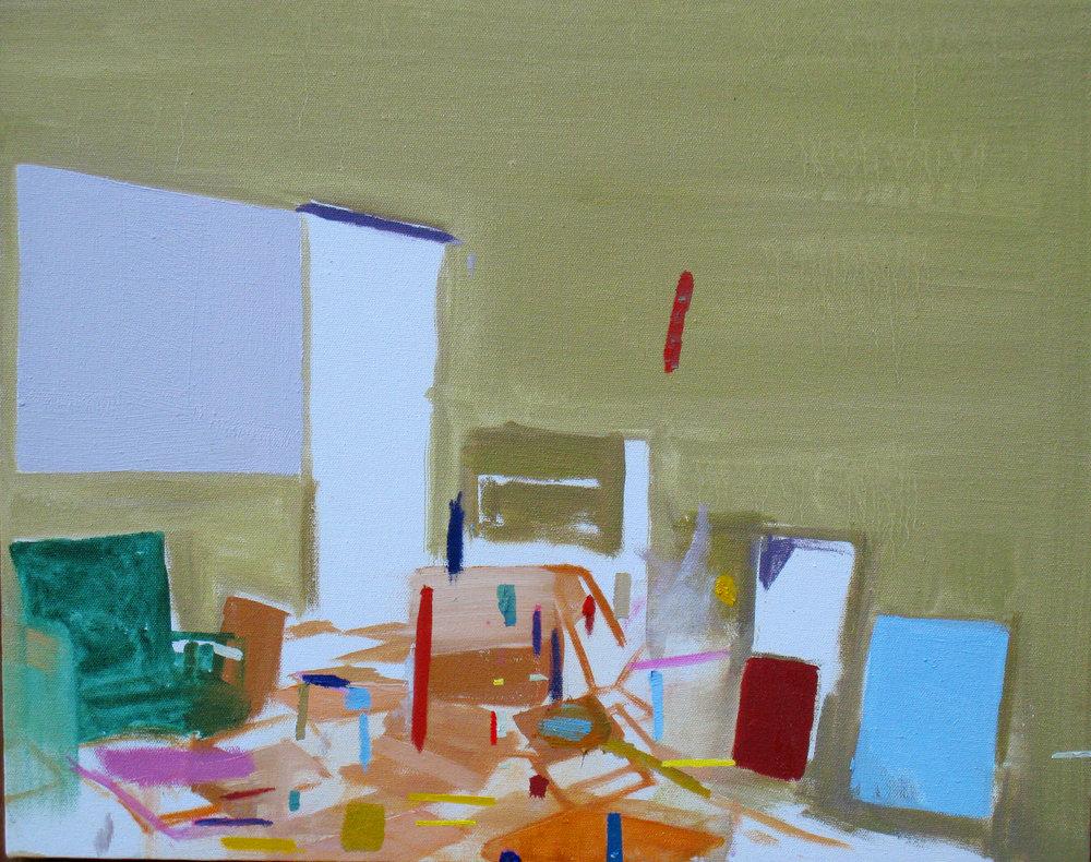 corner painting