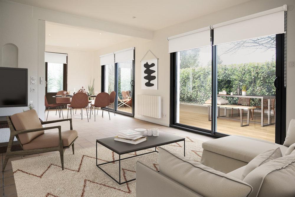 LA MAISON - SEGNY - PAYS DE GEXMaison de 195m2 et 1000m2 de terrain, 4 chambres et 3 salles de bain à 520.000€
