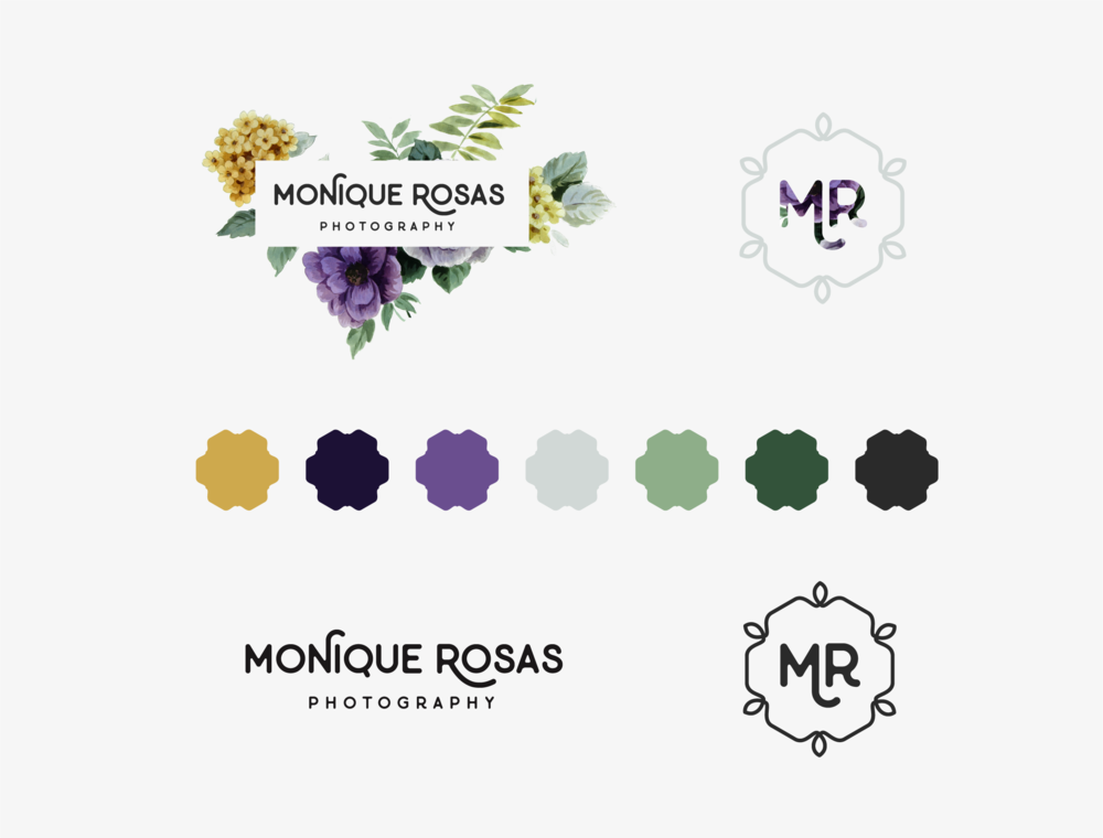 Monique Rosas Brand Board