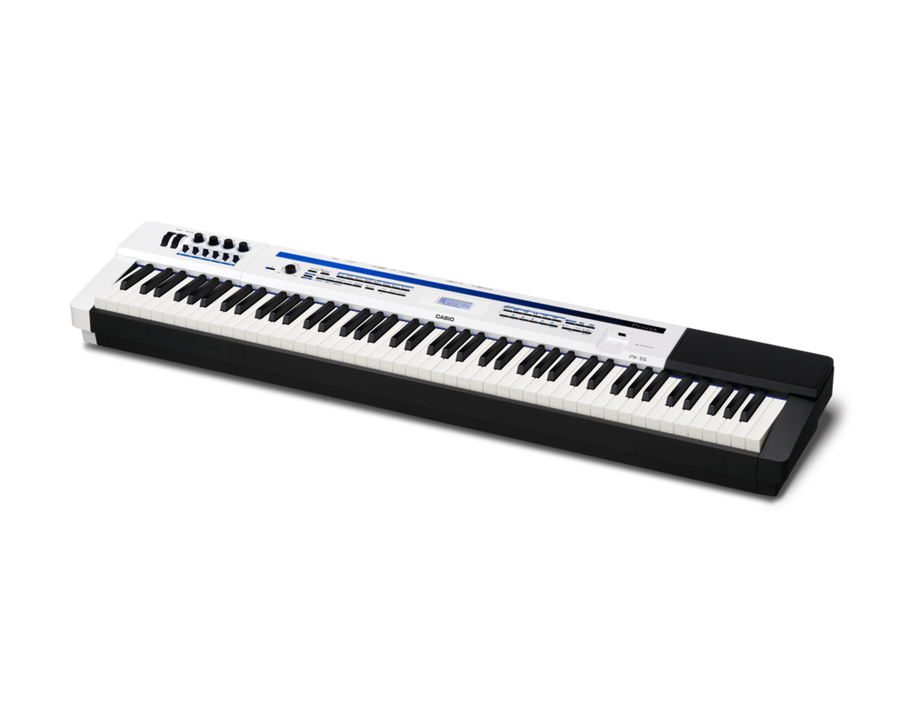 Casio PX-5SWE Digital Stage Studio Piano side