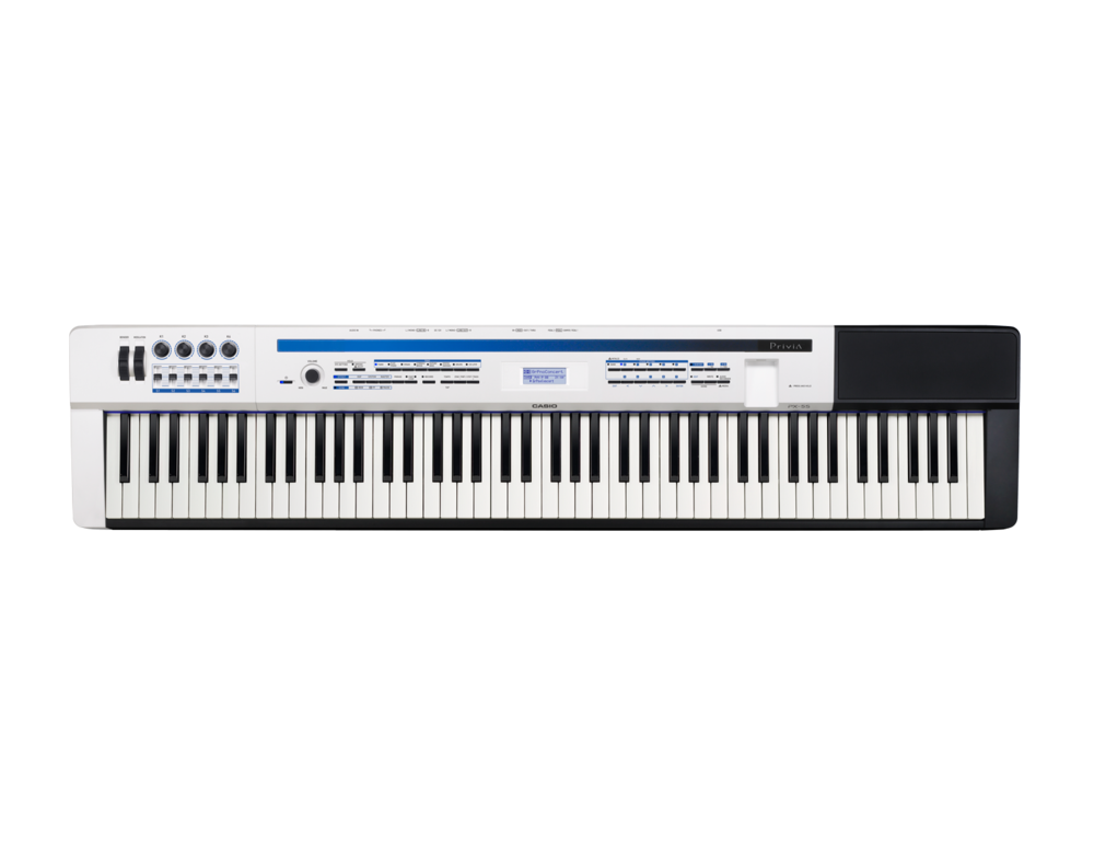 Casio PX-5SWE Digital Stage Studio Piano top