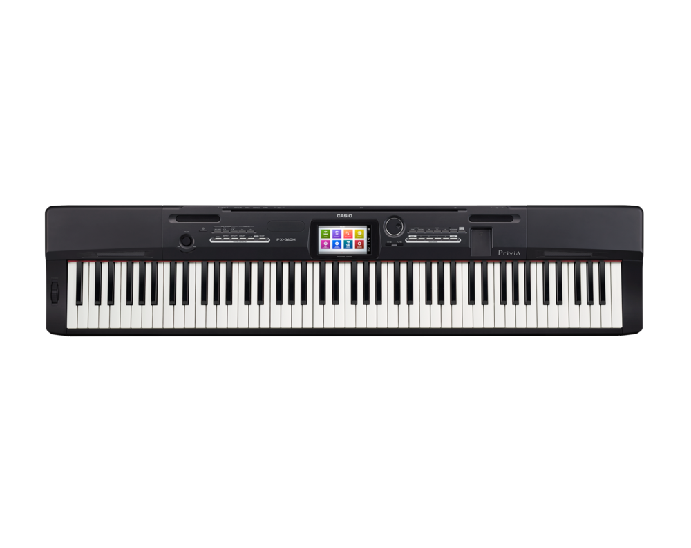 Casio PX-360BK Digital Stage Studio Piano top