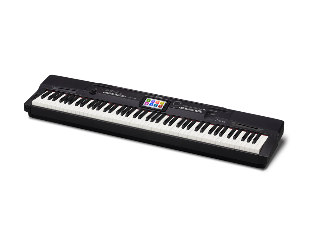 Casio PX-360BK Digital Stage Studio Piano side