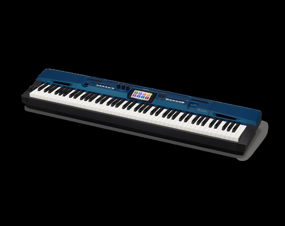 Casio PX-560BK Digital Stage Studio Piano side