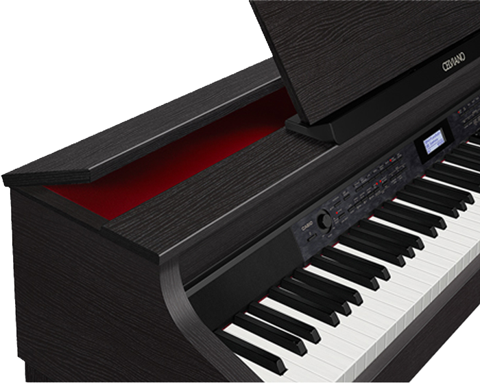Casio AP-700BK Celviano digital piano lid