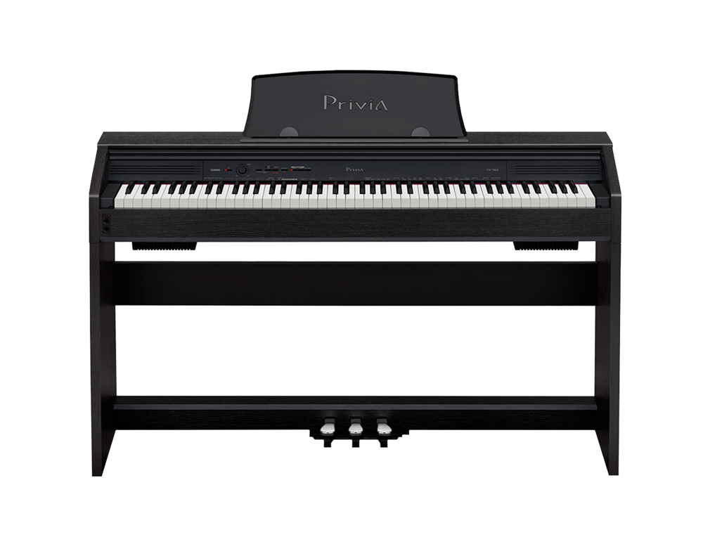 Casio PX-760 Privia digital piano front