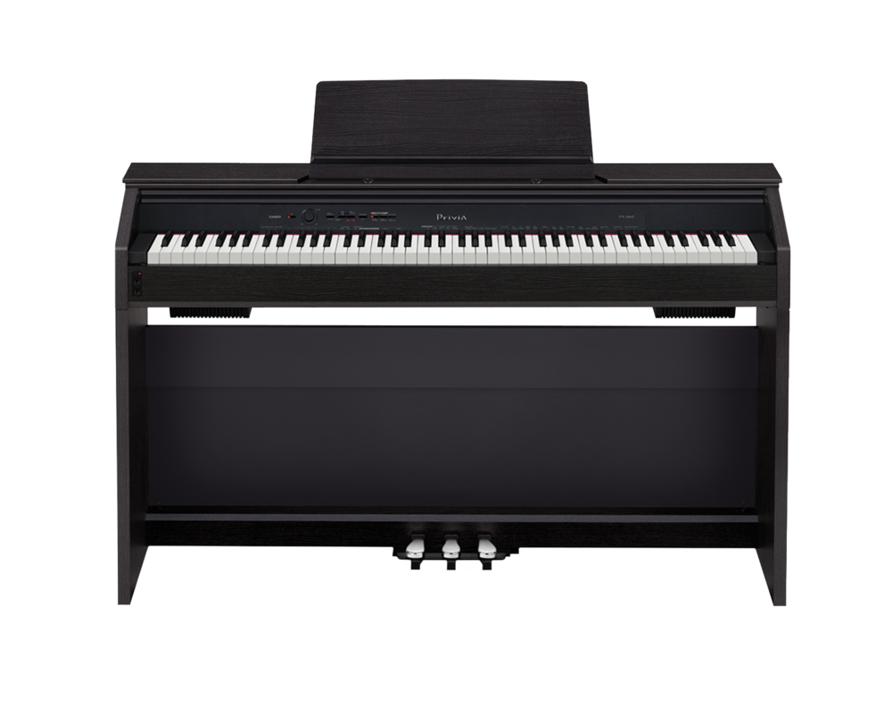Casio PX-860 Privia digital piano front