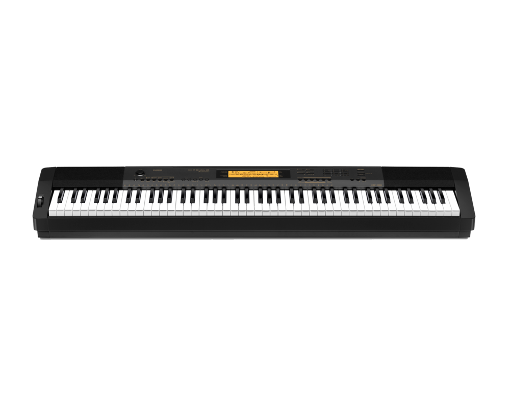 Casio CDP-230RBK Compact Digital Piano front