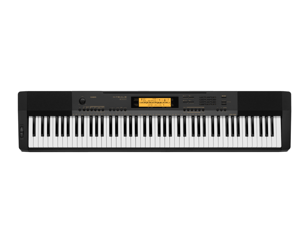 Casio CDP-230RBK Compact Digital Piano top