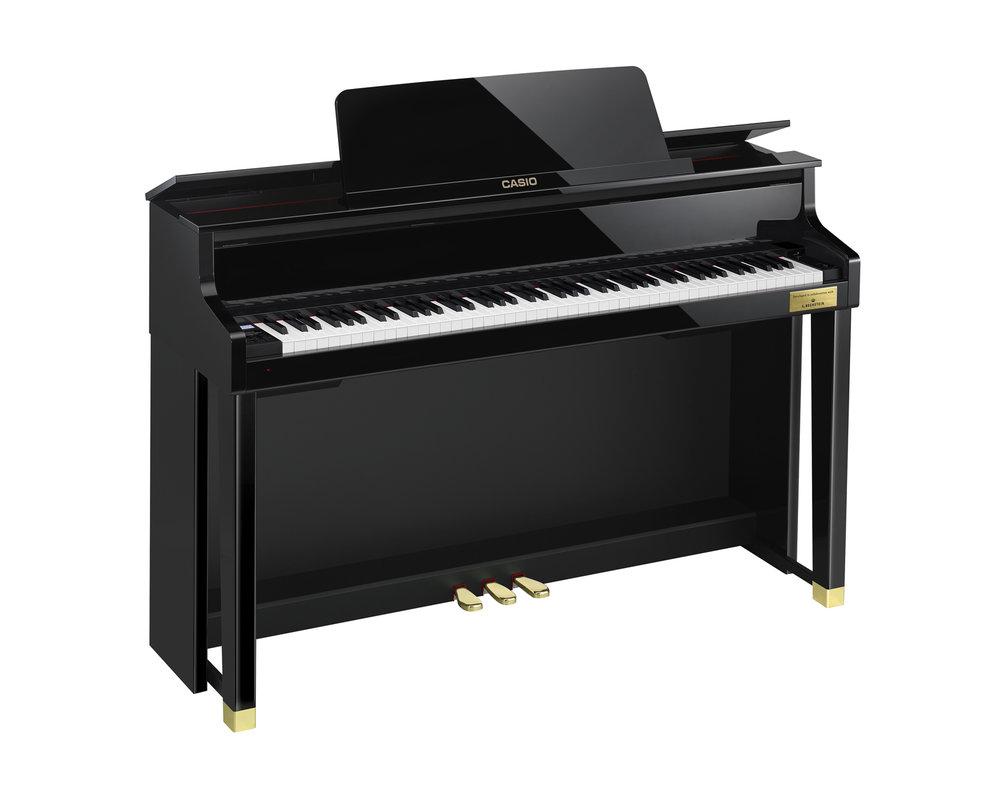 Casio GP-500 Grand Hybrid Piano left