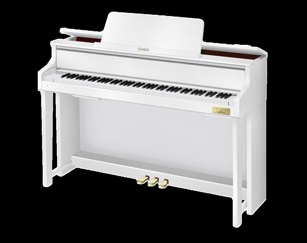 Casio GP-300WE Grand Hybrid Piano side
