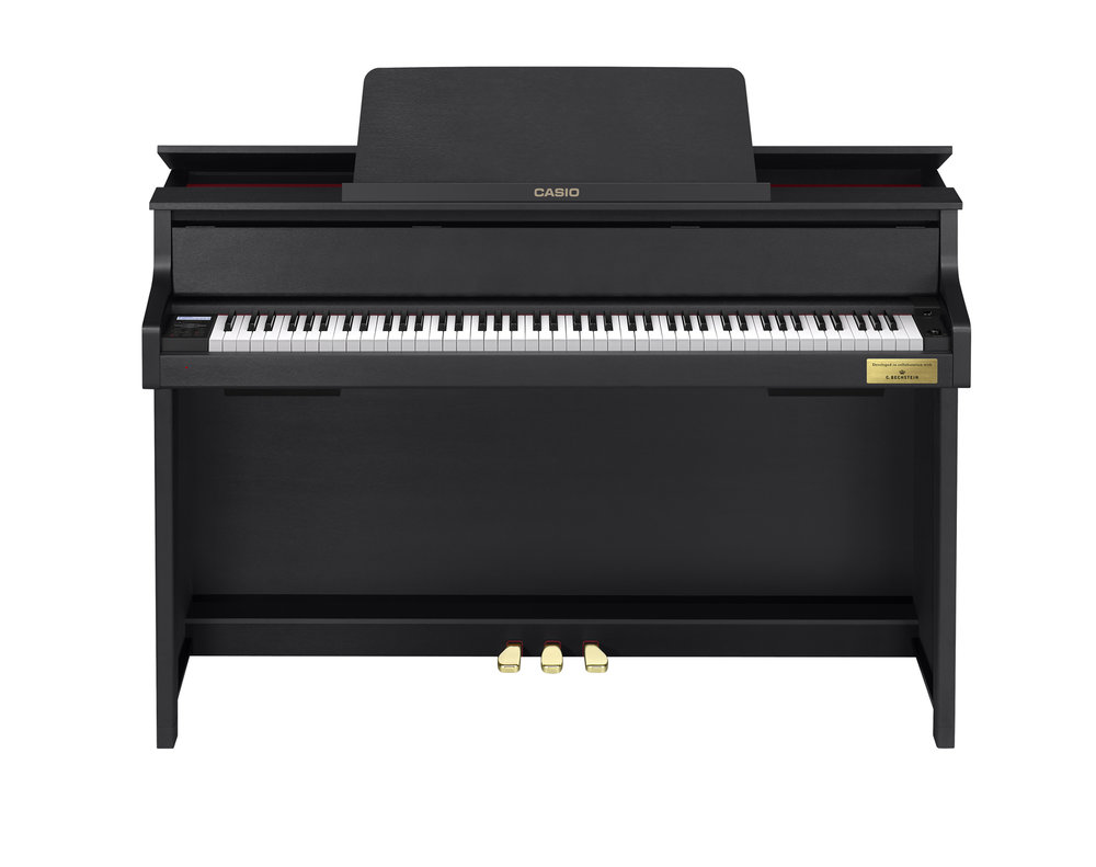 Casio GP-300BK Grand Hybrid Piano front