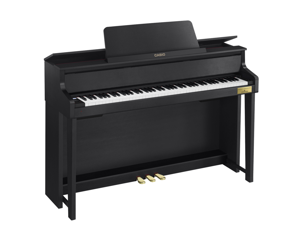 Casio GP-300BK Grand Hybrid Piano left