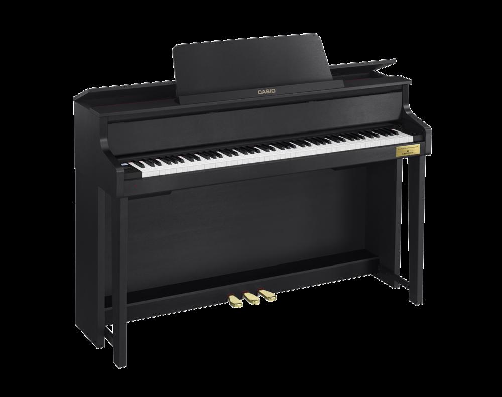 Casio GP-300BK Grand Hybrid Piano left