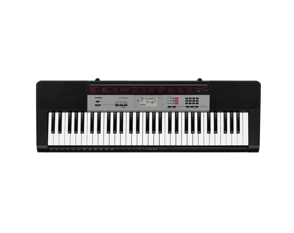 Casio CTK-1500 portable keyboard image top