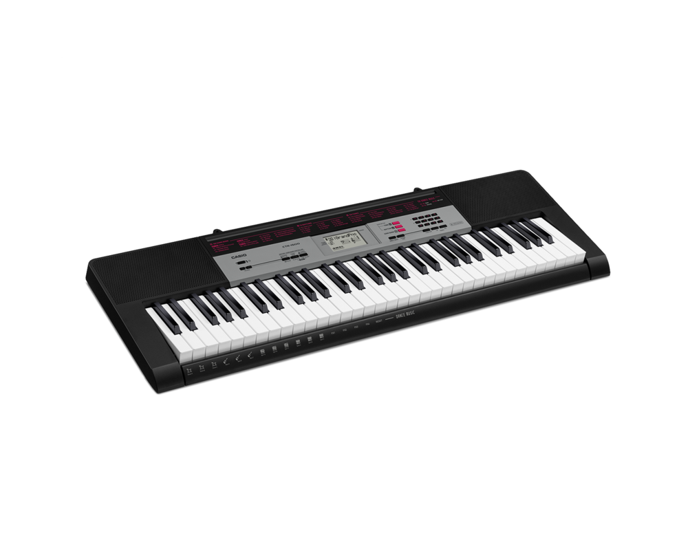 Casio CTK-1500 portable keyboard image side