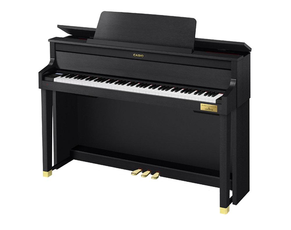 Casio GP-400BK Grand Hybrid piano side