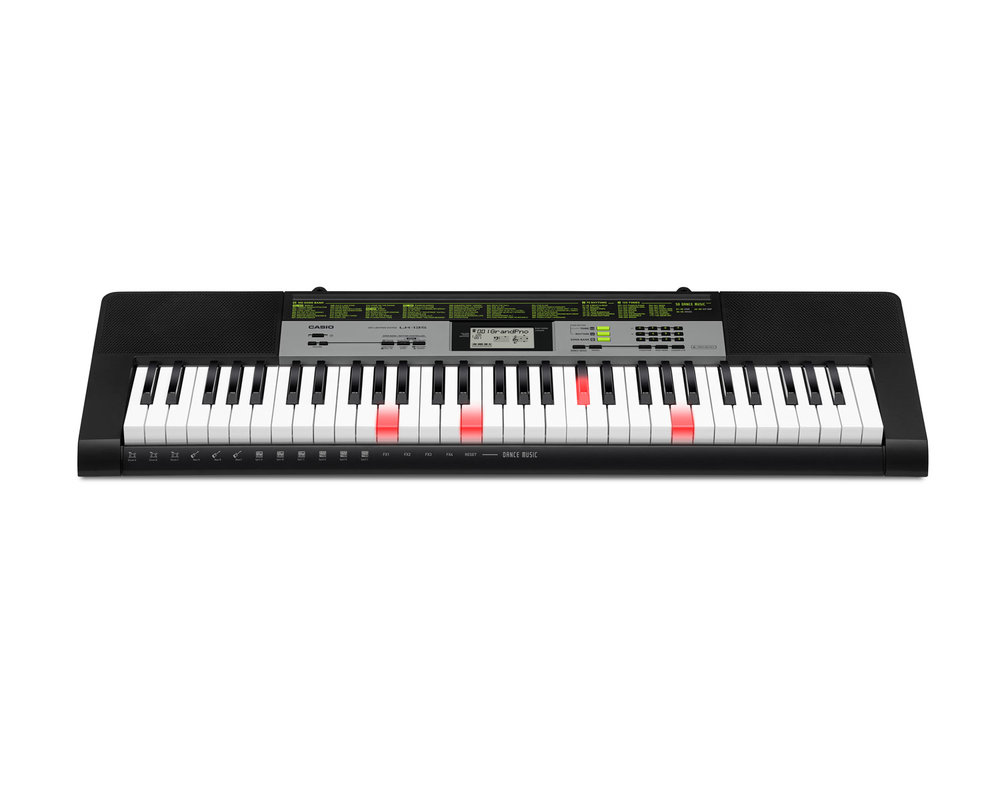 Casio LK-135 key lighting keyboard image front