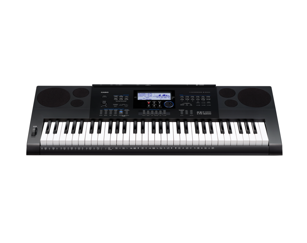 Casio CTK-6200 high grade keyboard image front