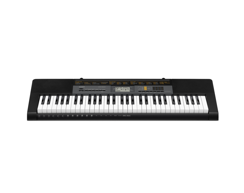 Casio CTK-2500 portable keyboard image front