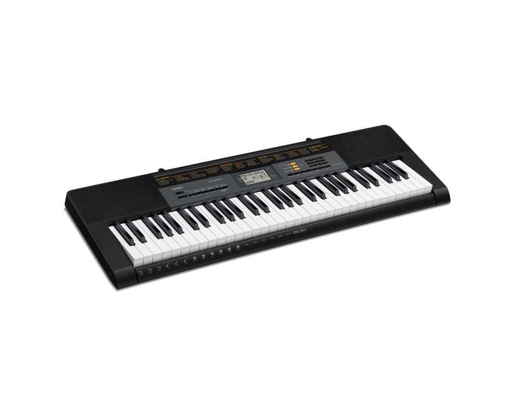 Casio CTK-2500 portable keyboard image side
