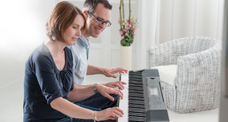 the cdp-130 is an ideal choice for beginner pianists of all ages