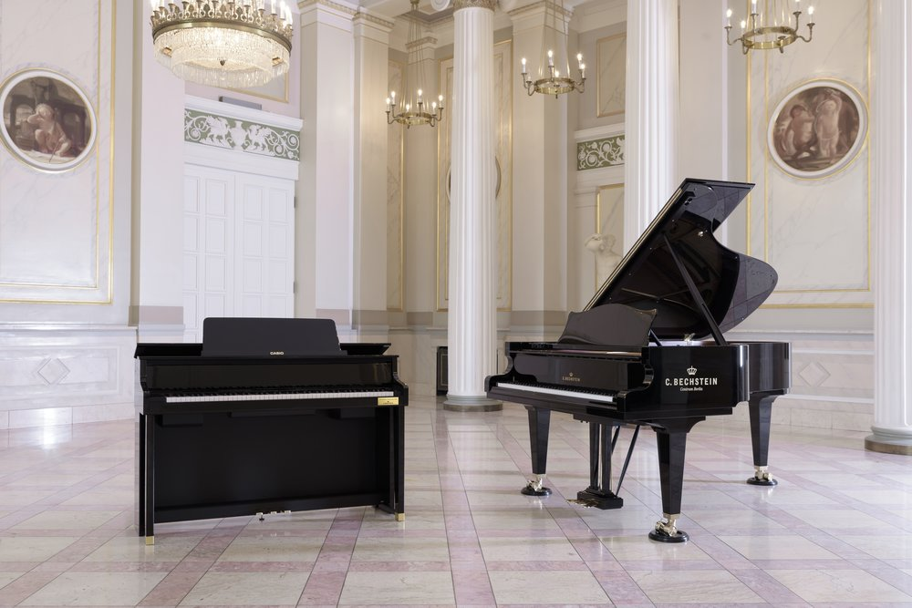 An exceptional collaboration: CASIO and C.Bechstein